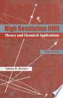 High Resolution Nmr Book PDF