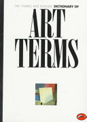 The Thames and Hudson Dictionary of Art Terms