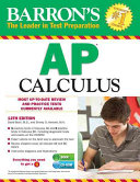 Barron s AP Calculus with CD ROM  12th Edition Book PDF