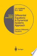 Differential Equations  A Dynamical Systems Approach Book