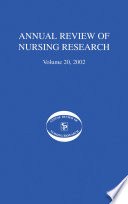 Annual Review Of Nursing Research Volume 20 2002