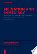 Mediation And Immediacy
