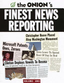 The Onion s Finest News Reporting Book