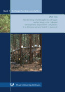 Partitioning of Atmospheric Nitrogen Under Long-term Reduced Atmospheric Deposition Conditions in a Norway Spruce Forest Ecosystem
