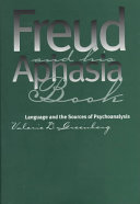 Freud and His Aphasia Book