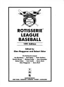 Rotisserie League Baseball Book PDF