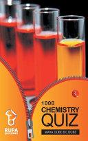 Rupa Book of Chemistry Quiz