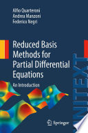 Reduced Basis Methods for Partial Differential Equations Book