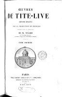 Œuvres ... Histoire romaine, avec la trad