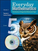 Everyday Mathematics Teacher Lession Guide Volume 1 Grade 5