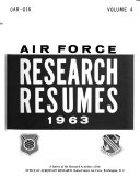 Air Force Research Resum  s