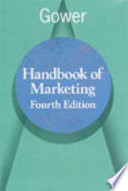 Gower Handbook of Marketing