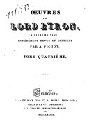 Oeuvres de Lord Byron: Don Juan