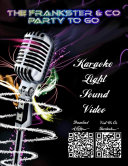The Frankster   Co  Party to Go   DJ   Karaoke