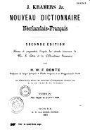 Nouveau dictionnaire néerlandais-français