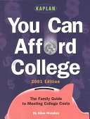 You Can Afford College 2001