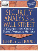 Security Analysis on Wall Street