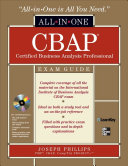 Cbap Certified Business Analysis Professional All In One Exam Guide Book PDF