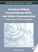 Technical Writing Presentational Skills And Online Communication Professional Tools And Insights