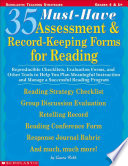 35 Must have Assessment and Record keeping Forms for Reading