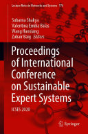 Proceedings of International Conference on Sustainable Expert Systems