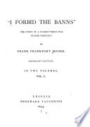 I forbid the banns