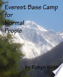 Everest Base Camp for Normal People Book