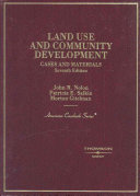 Cases and Materials on Land Use and Community Development