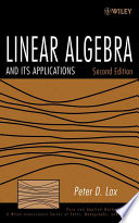 Linear Algebra and Its Applications  , Band 10
