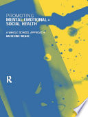 Promoting Mental  Emotional and Social Health Book