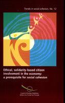 Engagement Éthique Et Solidaire Des Citoyens Dans L'économie