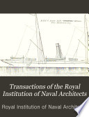 Transactions of the Royal Institution of Naval Architects Book