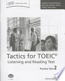 Tactics for TOEIC® Listening and Reading Test: Practice Test 2