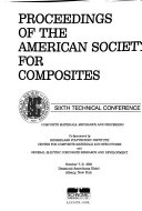 Proceedings of the American Society for Composites     Technical Conference Book