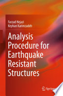Analysis Procedure for Earthquake Resistant Structures Book