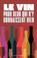 Pdf Le vin pour ceux qui n'y connaissent rien Telecharger