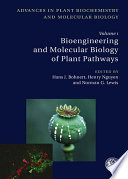 Bioengineering and Molecular Biology of Plant Pathways Book