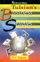 6th Revised Edition Tulsian s Business Studies for Class Xii  cbse