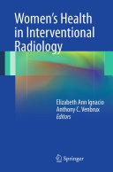 Women's Health in Interventional Radiology