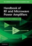 Handbook of RF and Microwave Power Amplifiers