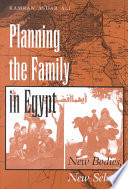 Planning the Family in Egypt