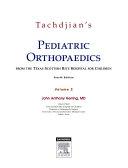 Tachdjian's Pediatric Orthopaedics