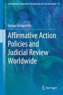 Affirmative Action Policies and Judicial Review Worldwide Pdf/ePub eBook