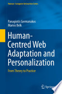Human Centred Web Adaptation and Personalization