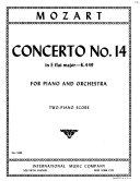 Concerto no. 14 in E flat major, K. 449