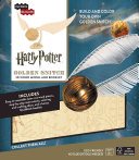 IncrediBuilds: Harry Potter: Golden Snitch 3D Wood Model and Booklet