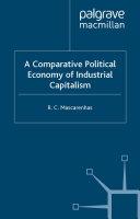 A Comparative Political Economy of Industrial Capitalism Pdf/ePub eBook