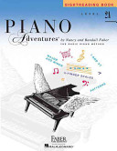 Level 2a   Sightreading Book Piano Adventures Book PDF