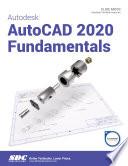Autodesk AutoCAD 2020 Fundamentals Book