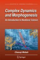 Complex Dynamics and Morphogenesis
